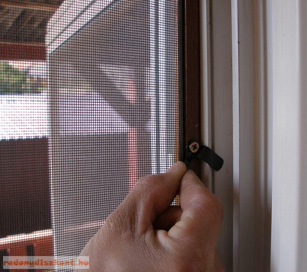 Szúnyogháló ajtó rugó